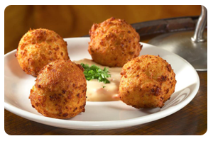 Blue Cheese Fritters of San Chez Bistro