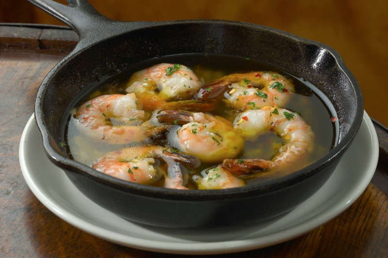 Sautéed Shrimp Olive Oil